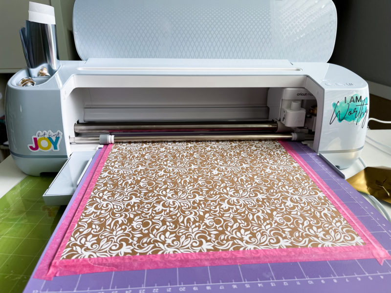 Cutting Chipboard with Cricut Maker 3 Project