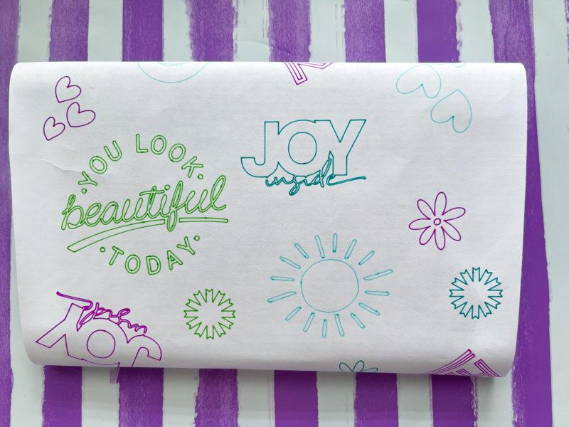 DIY Custom Tissue Paper with Cricut