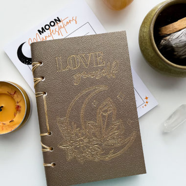 Leather Journal Cover Cricut maker 3