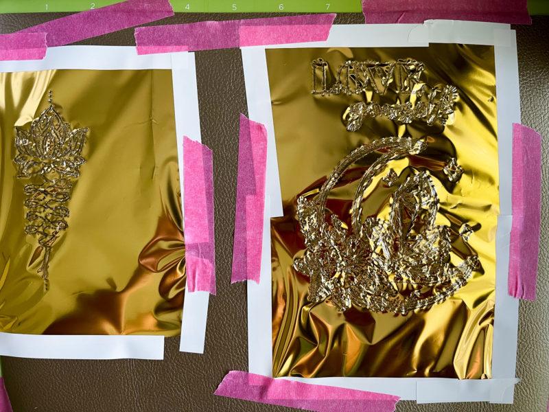 Cricut Maker 3 Foil Projects