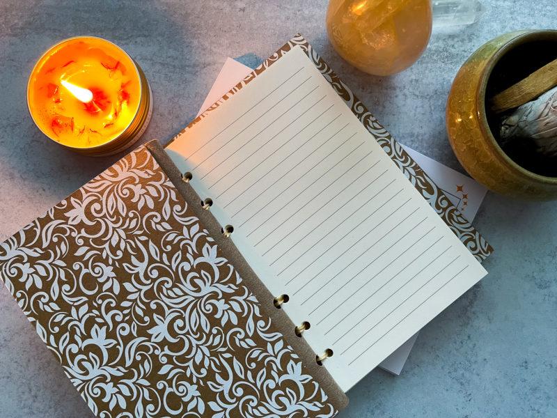 Cricut Maker Hardcover Leather Journal Idea