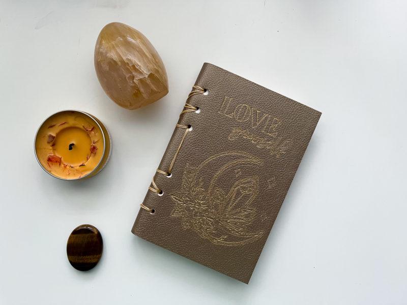Cricut Leather Journal Tutorial