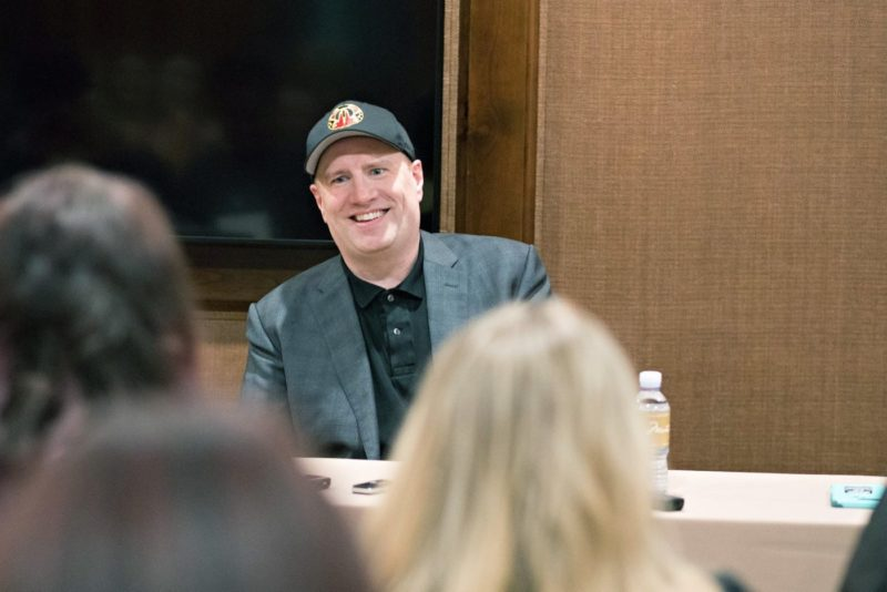 Kevin Feige Bloggers Interview