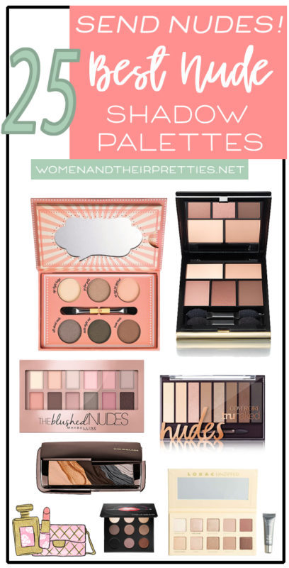 Best Nude Shadow Palettes