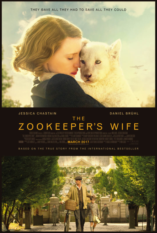The Official The Zookeeper's Wife Trailer