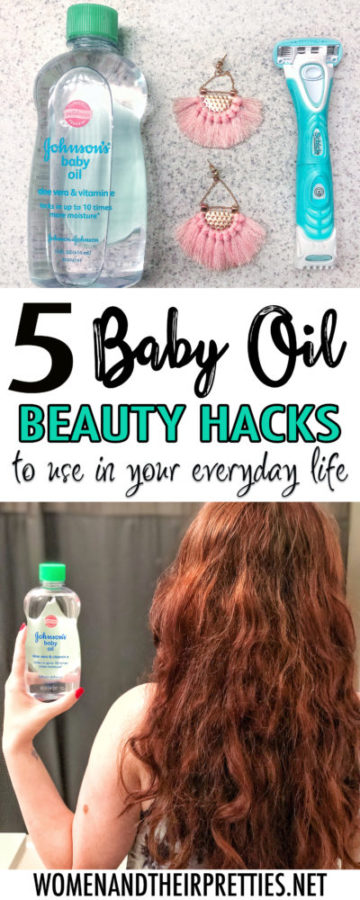 Beauty hacks for baby oil to use in your every day life
