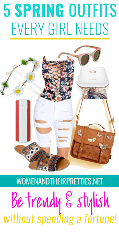 5 Spring Outfits every girl needs without spending a fortune!