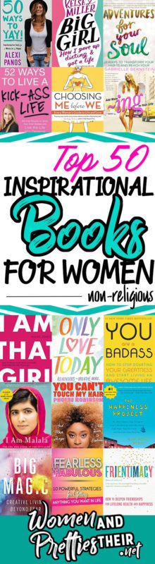 50 Best Non-Religious Inspirational Books for Women (Written by Women)