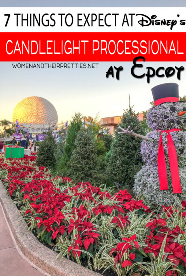 Wondering what to expect from the Disney Candlelight Processional at Epcot? I've attended multiple times, so I've got a some great tips for anyone looking to attend. And, yes. It's worth it! #DisneyChristmas #DisneyHolidays #Epcot #CandlelightProcessional