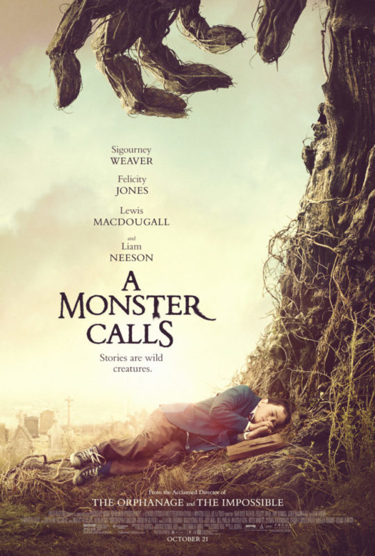 New A Monster Calls Featurettes