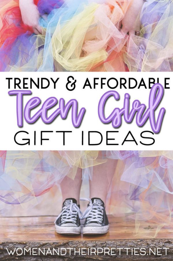 Looking for teen girl gift ideas that won't break the bank? I've gathered a lift of teen gifts that are age appropriate and affordable! Because our teens aren't little children anymore and they aren't adults either.  #TeenGifts #GiftIdeas