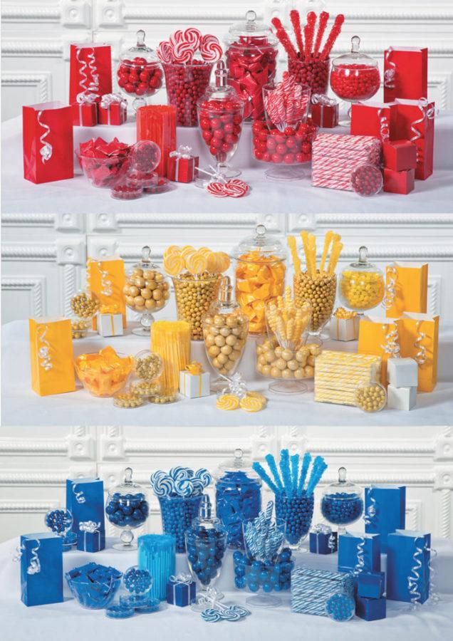 Cheap Candy Buffet Wedding