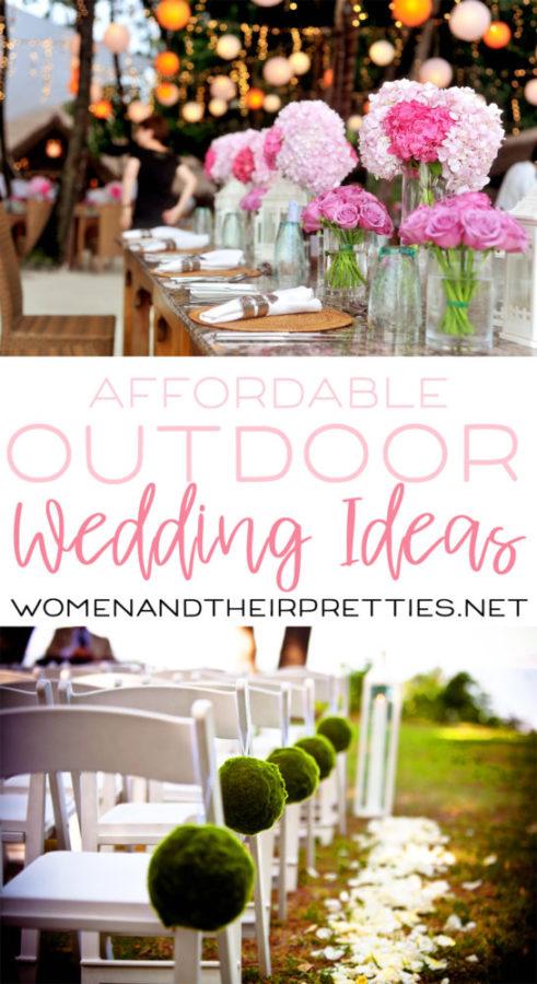 Cheap Outdoor Wedding