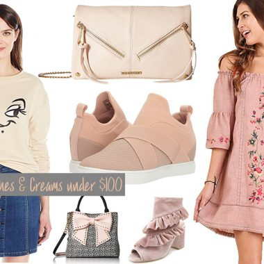 Cream and Blush Clothing on Amazon