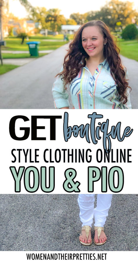 Boutique style women's clothing