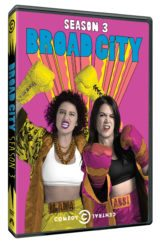 Enjoy a girl's night – on me. Enter to win Broad City Season 3 and a $50 Visa Gift Card! #BroadCity