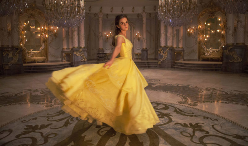 Emma Watson as Belle in Disney's BEAUTY AND THE BEAST, a live-action adaptation of the studio's classic animated film.