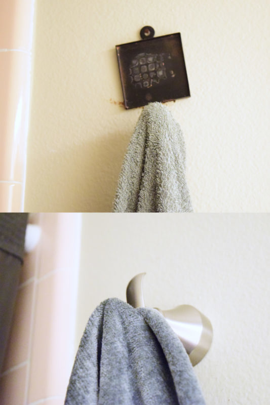 Easy Feminine Bathroom Update