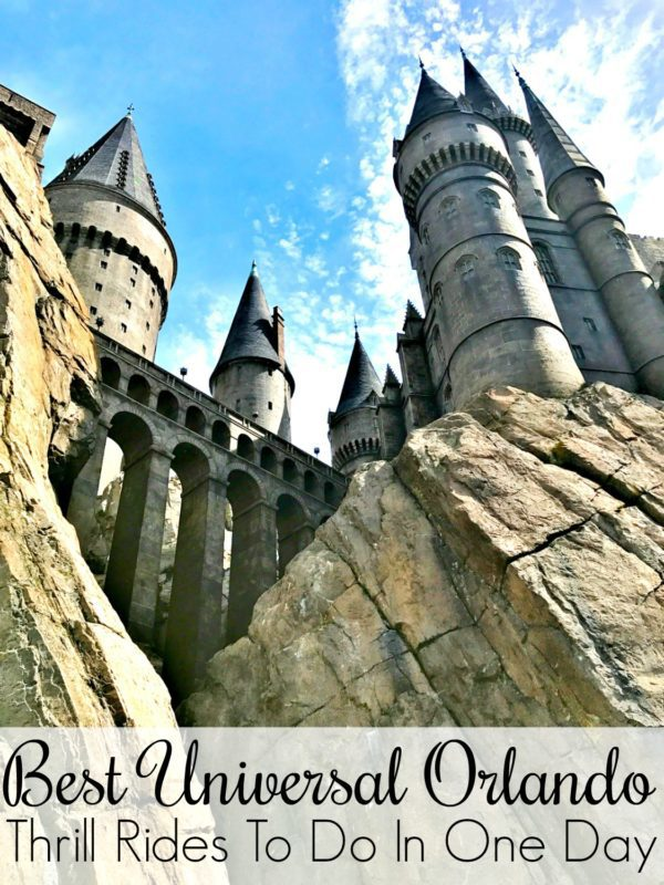 Best Universal Orlando Thrill Rides in One Day