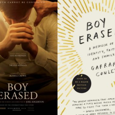 Boy Erased Book Giveaway