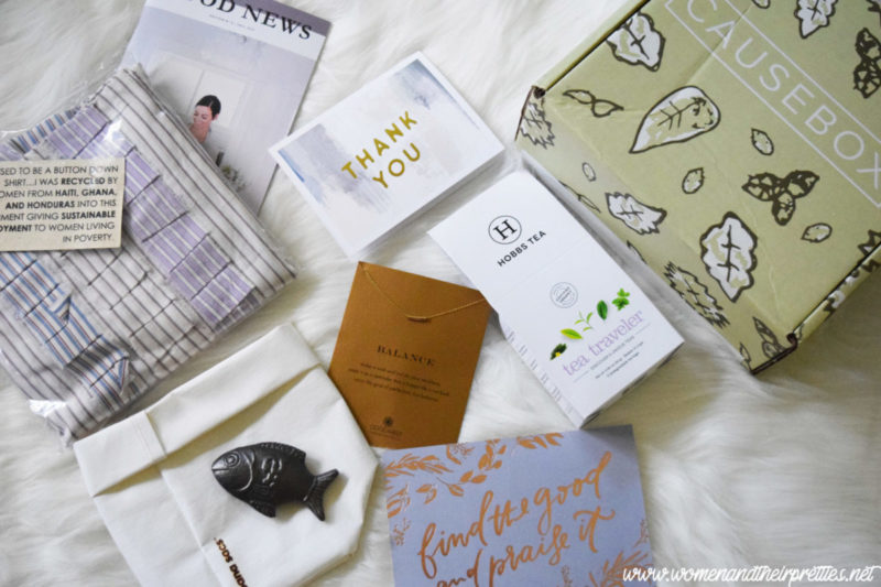 CAUSEBOX - Subscription Box That Makes a Difference