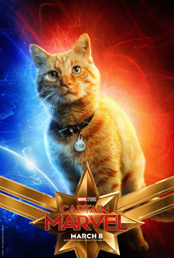 Captain Marvel Character Posters Goose the cat