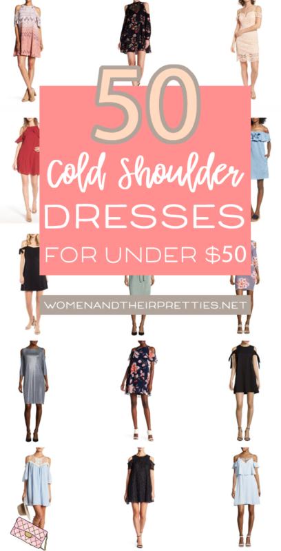 50 Cold-Shoulder Dresses under $50