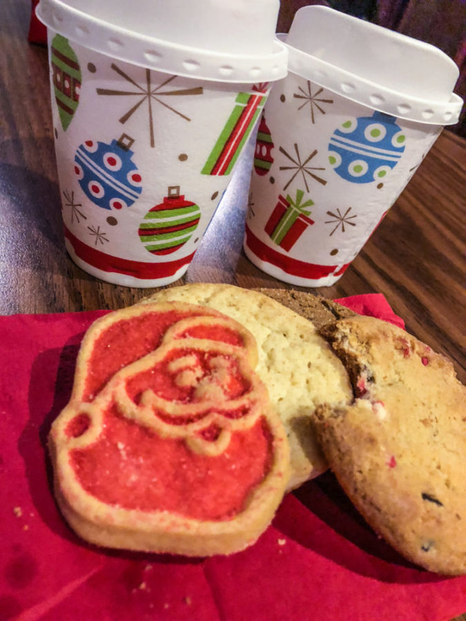 Disney Christmas Free Snacks