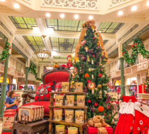 Christmas at Disney Shopping