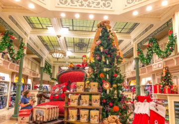 Christmas at Disney Shopping
