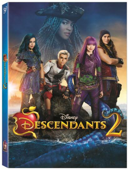 Descendants 2 DVD & Gift Ideas