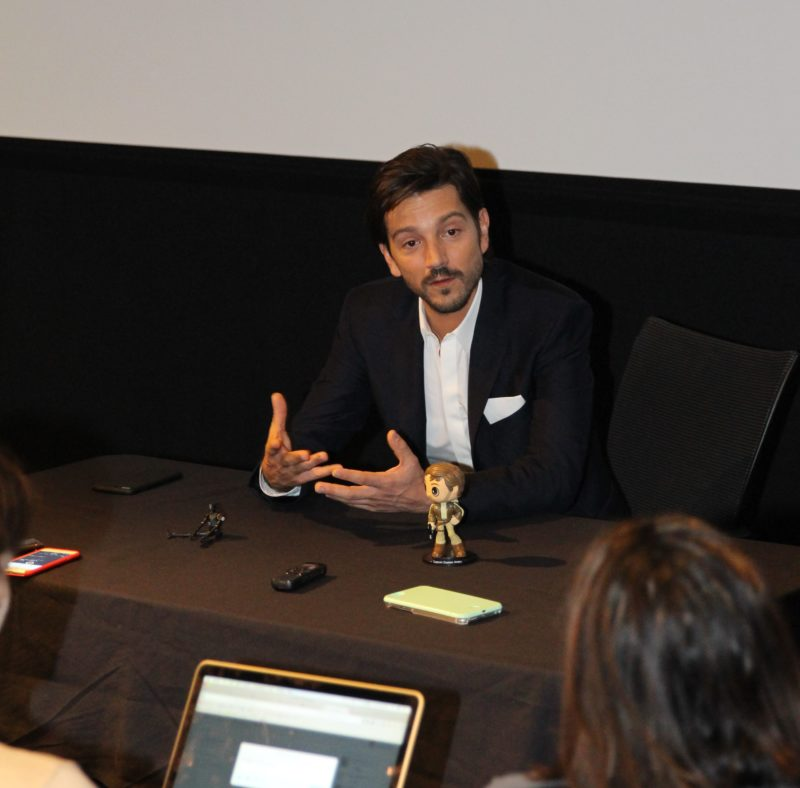 An Official Introduction to Cassian Andor: My Diego Luna Rogue One Interview #RogueOneEvent