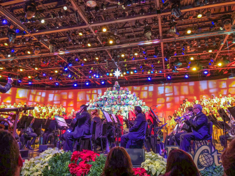 7 Things to Expect from the Disney Candlelight Processional at Epcot