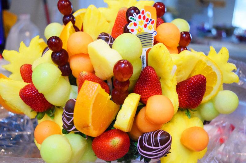 Dream Big – Disney Princess Bouquet: This fruit bouquet is the perfect Disney trip announcement idea!