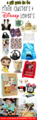 This guide is for all of the pixie dusters and disney lovers out there. Give your loved ones Disney Gifts using this super cute Disney Gift Guide!