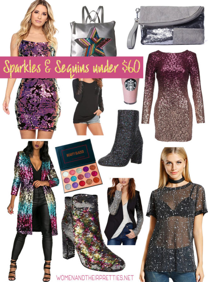 Amazon Fashion Finds: Sparkles and Sequins Clothing (Under $60)