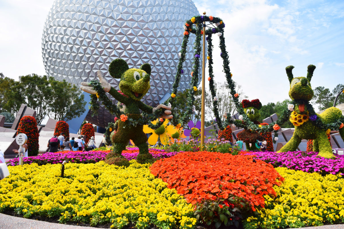 What to do and see at the Epcot International Flower & Garden Festival