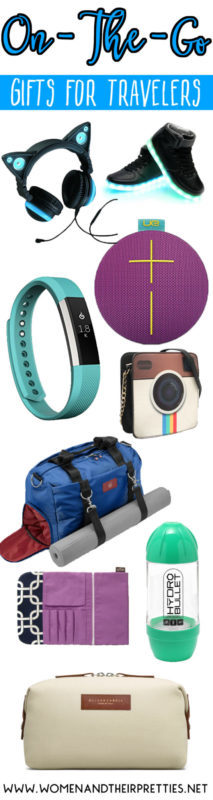 Grab these trending gifts for those that are ALWAYS on-the-go! These gifts for travelers are surely to please!