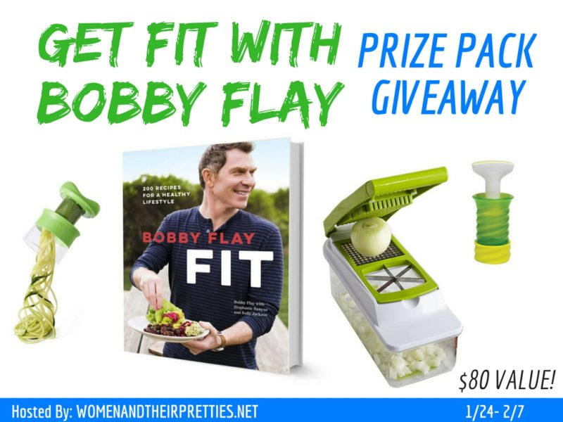 Accomplishing those New Year's goals isn't always easy – especially if you're trying to do it all on your own. If you don't have an accountability partner, then you need something to give you that extra BOOST. You'll get just that with this Bobby Flay Cookbook and Prize Pack Giveaway. Enter daily! Good luck to all!