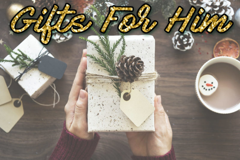 Gifts for Him Holiday Gift Guide
