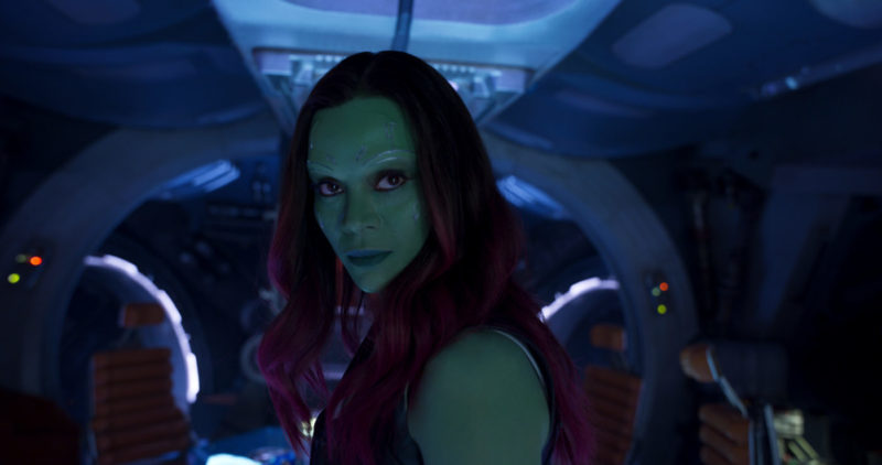 "Let's talk about Gamora & Star-Lord! Zoe dishes everything we want to know about the ""couple"" in this Guardians of the Galaxy Vol. 2 Zoe Saldana Interview."