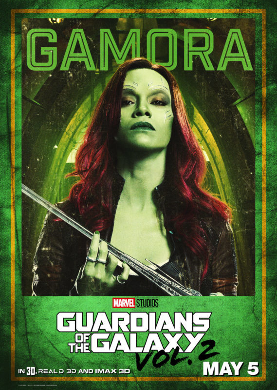 New Guardians of the Galaxy Character Posters – #GotGVol2Event