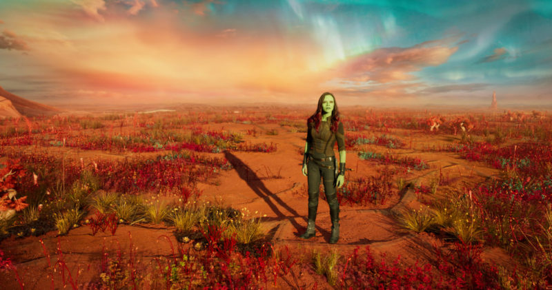 Zoe gets candid about Gamora & Star-Lord in this Guardians of the Galaxy Vol. 2 Zoe Saldana Interview #GotGVol2Event
