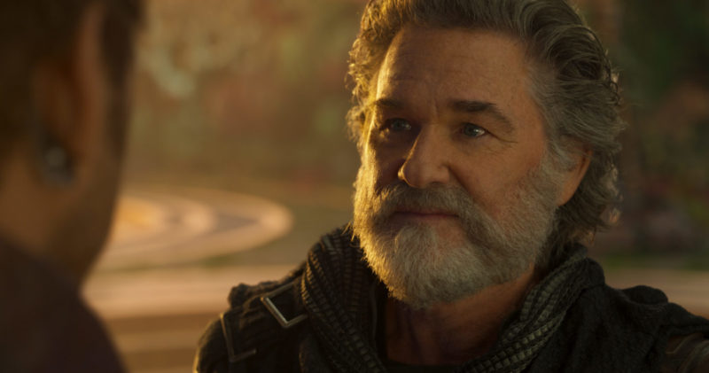 Kurt Russell reveals his concerns on taking the role of Peter Quill's father in this exclusive Kurt Russell interview. Find this out and more. There aren't any spoilers, so don't worry!