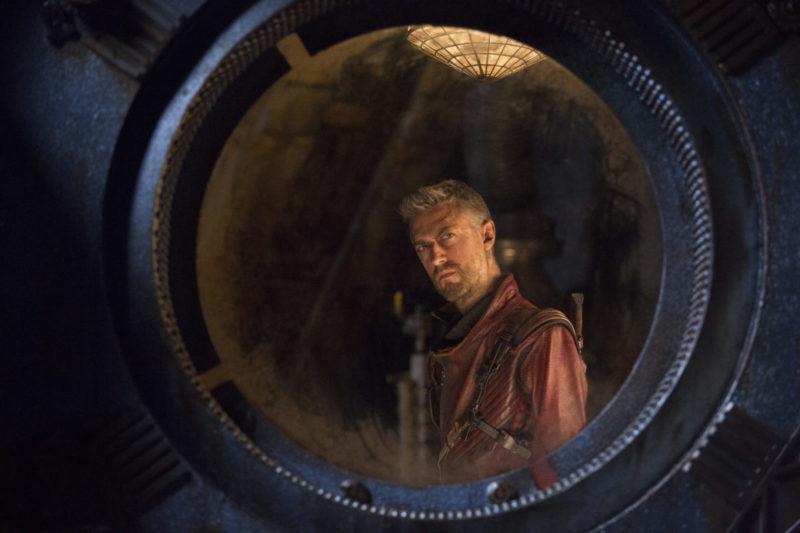Sean Gunn as Kraglin – Guardians 2 Interview