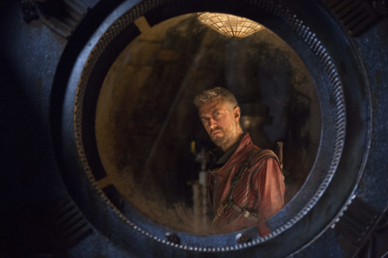 Sean Gunn as Kraglin – Guardians 2 Interview