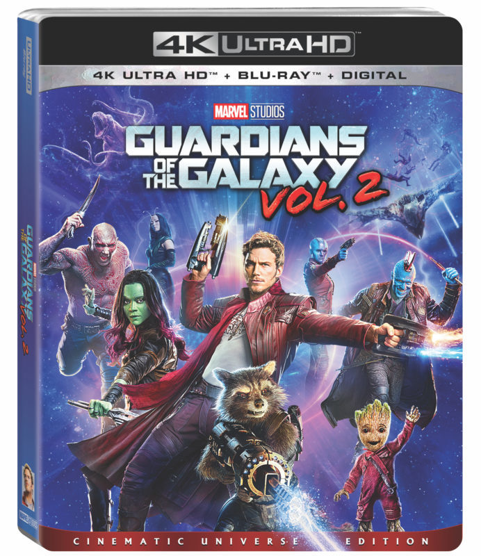 Guardians 2 Blu-ray