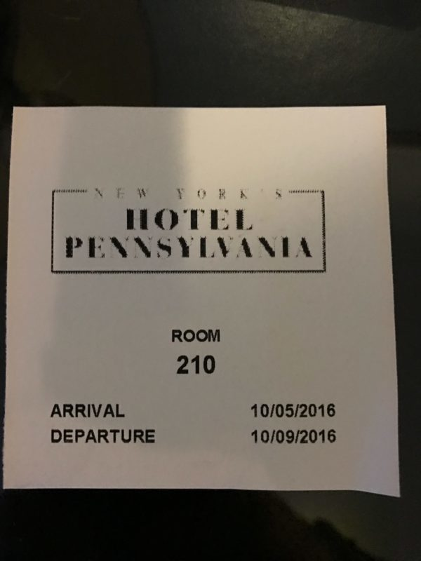 Where NOT to stay in New York City: My horrible, no good, very bad Hotel Pennsylvania experience -- New York City Hotel Pennsylvania Review