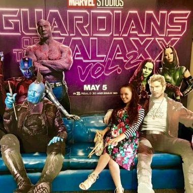 I'm blasting off to the Guardians of the Galaxy Vol. 2 Red Carpet & Press Junket in LA, obviously! #GotGVol2Event #GotGVol2