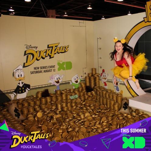New DuckTales - Scrooge McDuck's Money Bin D23 Expo